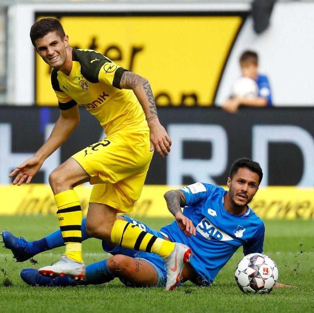 Hasil Liga Jerman: Dortmund Diimbangi Hoffenheim 1-1