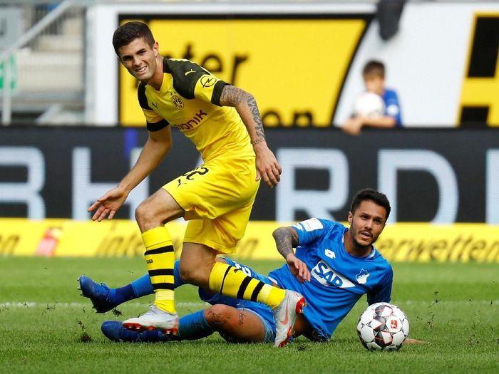 Borussia Dortmund berimbang 1-1 kontra Hoffenheim (REUTERS/Kai Pfaffenbach)