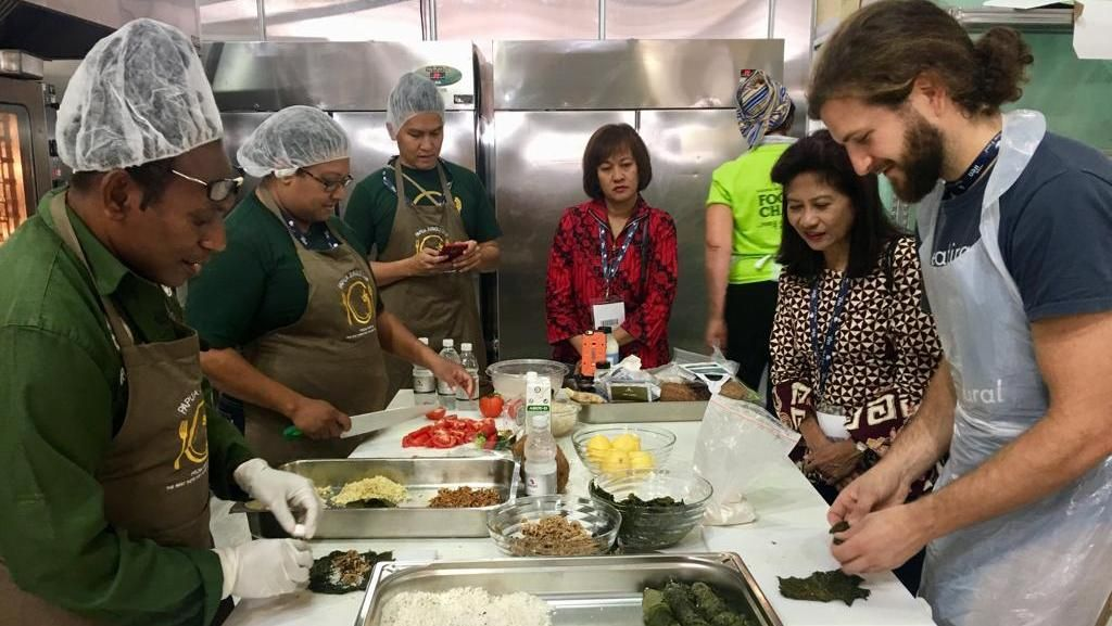 Koki dan Pegiat Kuliner RI Ramaikan Festival Makanan Sehat di Italia