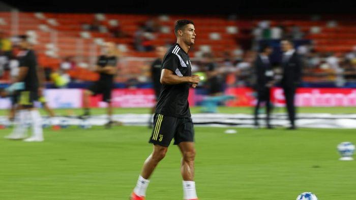 Ronaldo dan Juventus akan hadapi Frosinone akhir pekan ini (Sergio Perez/Reuters)