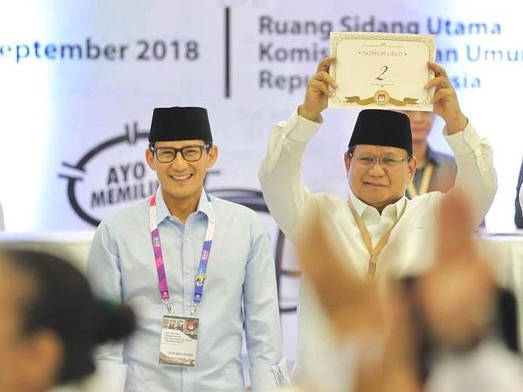Soal Make Indonesia Great Again, Sandi: Prabowo Loving What He Does