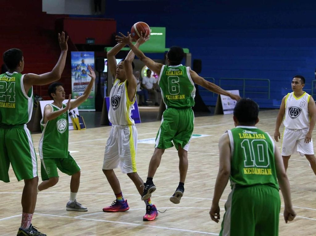 24 Tim Ramaikan Liga Basket Jasa Keuangan