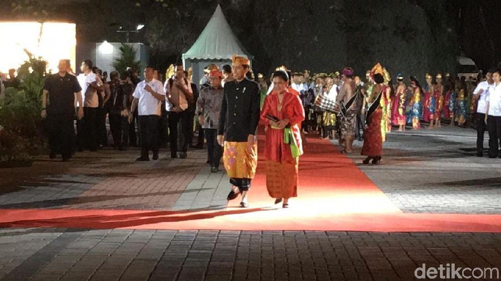 Jokowi Resmikan Patung GWK, Luhut hingga Megawati Hadir