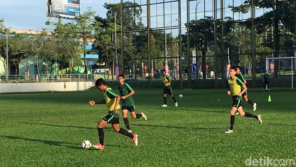 Intip Latihan Timnas U-16 Usai Taklukkan Iran