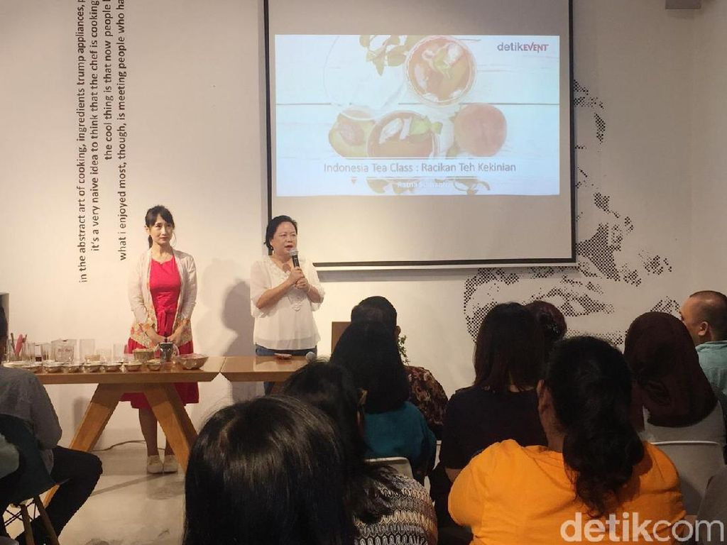 Indonesian Tea Class, Racikan Teh Kekinian Buat Kafe