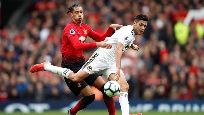Manchester United diimbangi Wolverhampton Wanderers 1-1 dalam lanjutan Liga Inggris (Foto: Carl Recine/Action Images via Reuters)