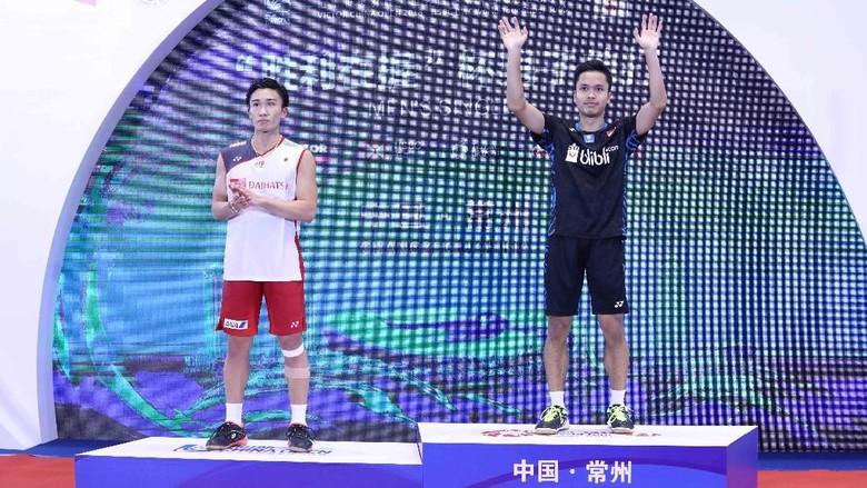 Gelar Juara China Terbuka 2018 Dibagi Rata
