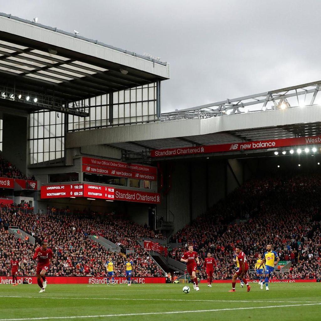 Anfield yang Sedang Angker untuk Lawan-Lawan Liverpool