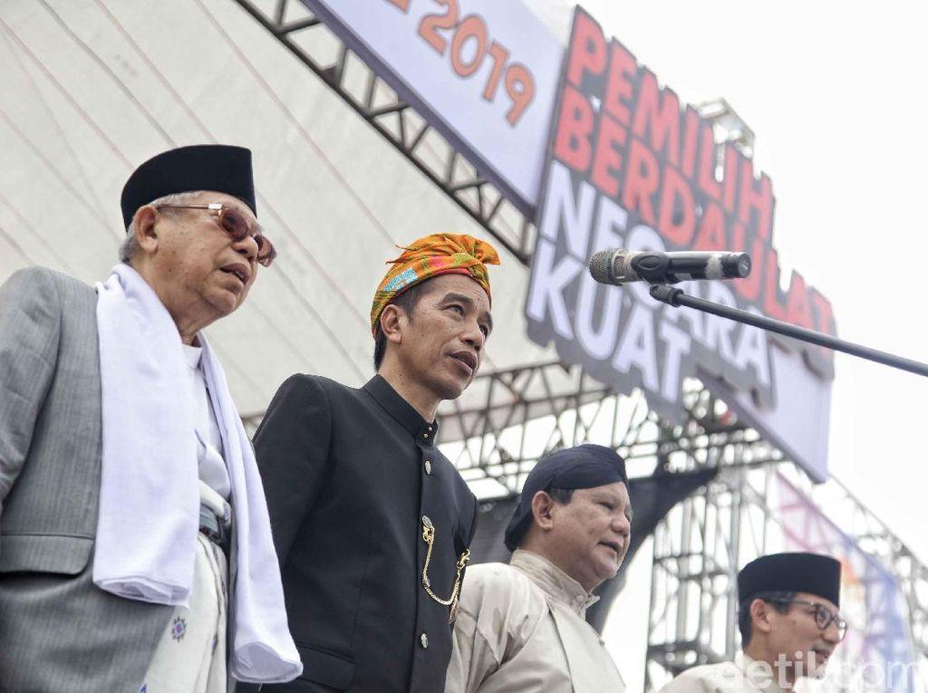 Membandingkan Visi-Misi Jokowi-Maruf dan Prabowo-Sandiaga