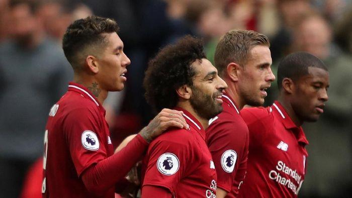 Liverpool dalam tren positif usai tujuh kemenangan beruntun di awal musim (Lee Smith/REUTERS)