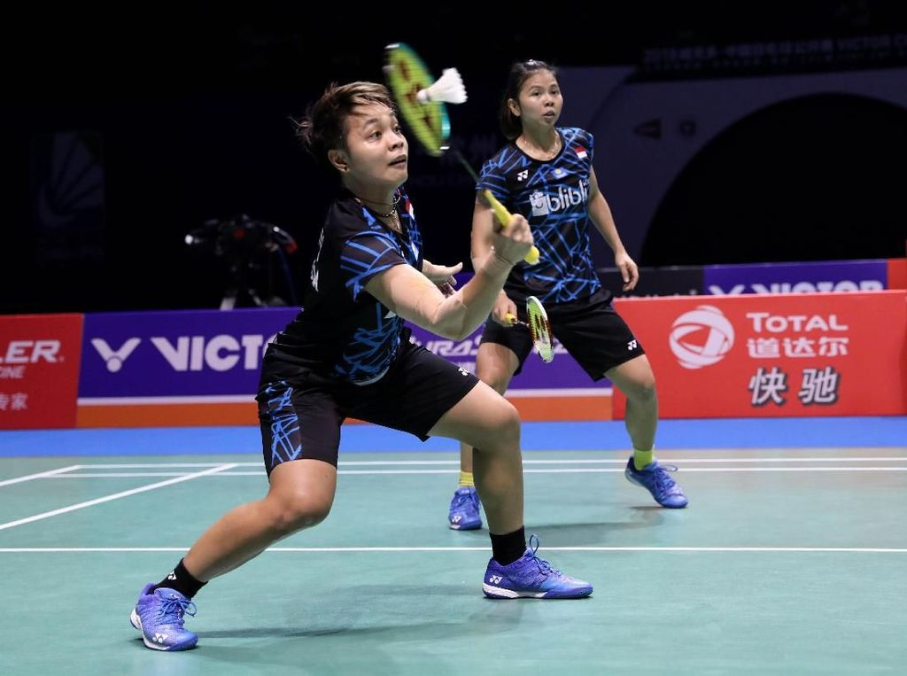 Greysia/Apriyani Kalah, Indonesia Cuma Satu Wakil di Final China Terbuka
