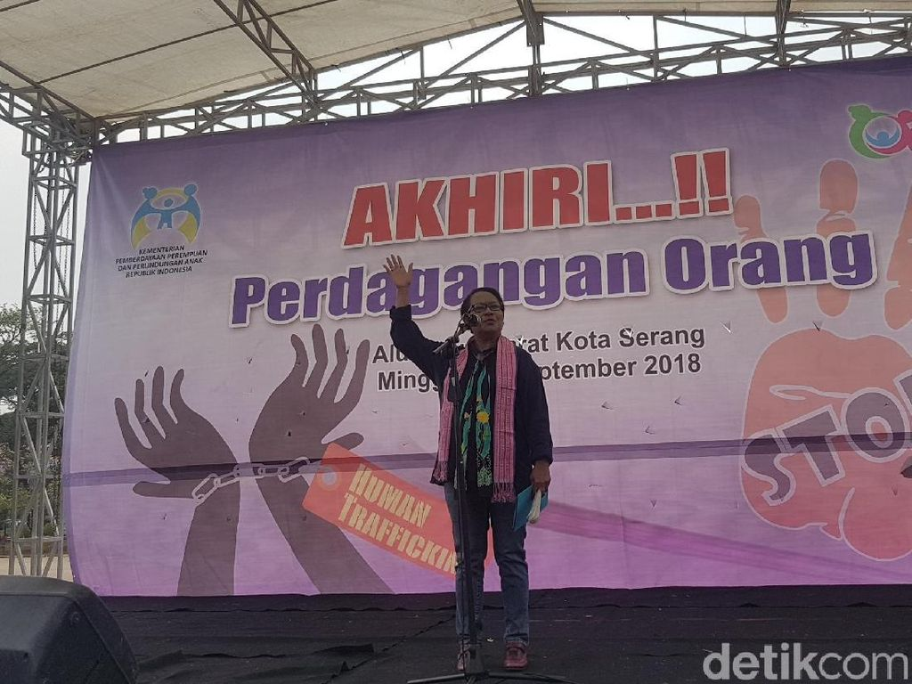 Menteri Yohana: Wanita di Banten Rawan Jadi Korban Perdagangan Orang
