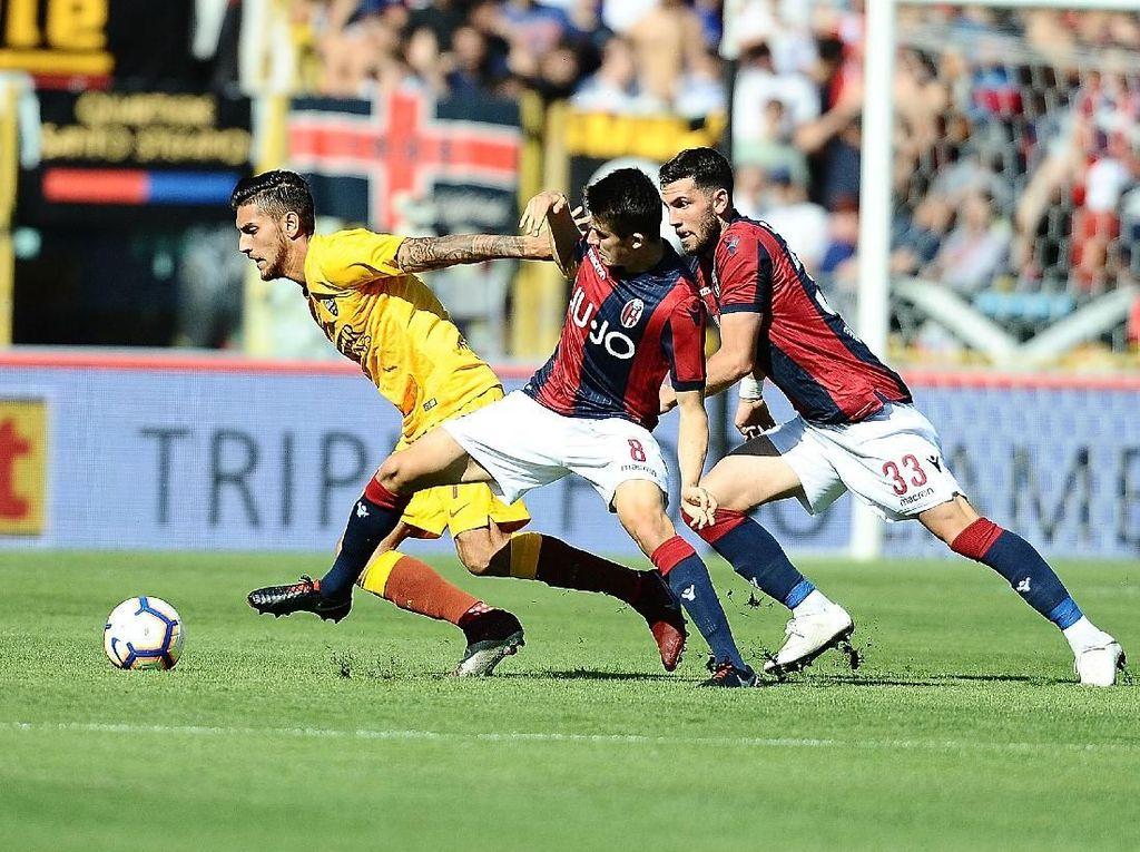 Hasil Liga Italia: Laju Buruk Roma Berlanjut Usai Dipermalukan Bologna