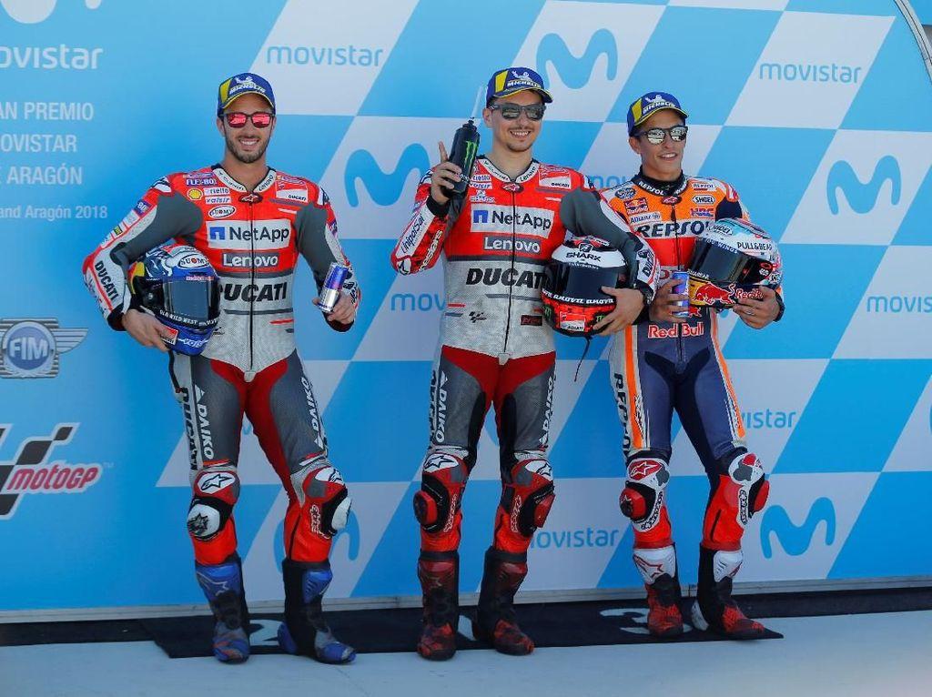 MotoGP Aragon: Duel Marquez Vs Duo Ducati Lagi?