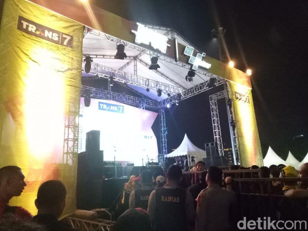 Meriahnya Nobar MotoGP Trans7 di Makassar
