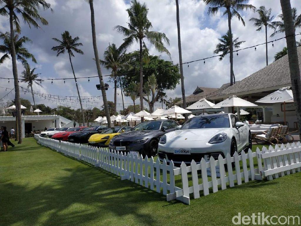 Puluhan Mobil Senilai Rp 200 Miliar Mejeng di Bali