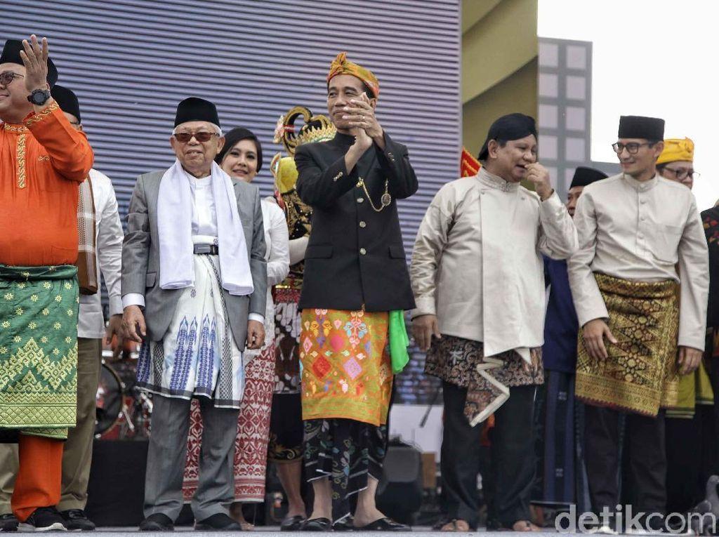 TKN Jokowi-BPN Prabowo Sepakat Gelar Kampanye Damai Saat Isra Mikraj