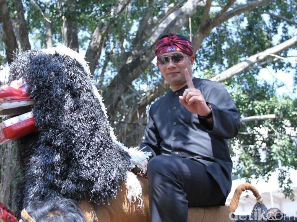 Ridwan Kamil Mulai Kampanyekan Jokowi-Maruf di Jabar