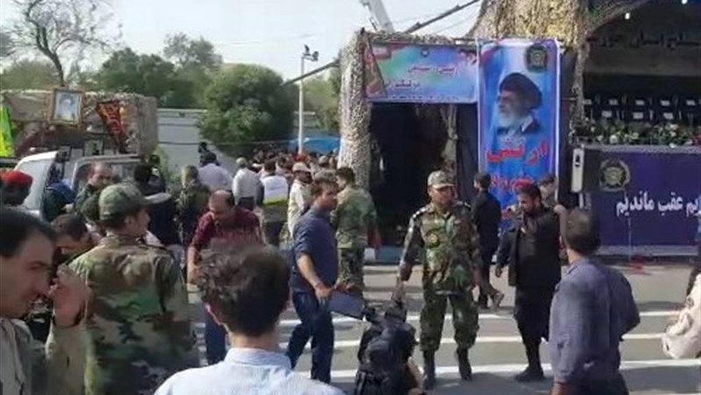 Iran Tetapkan Masa Berkabung Atas Serangan Parade Militer