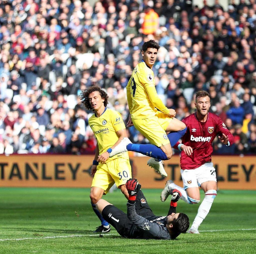 Chelsea Ditahan Imbang West Ham 0-0