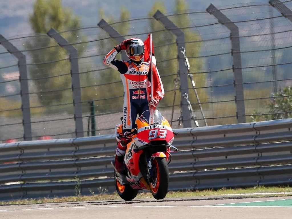 MotoGP Thailand: Upaya Ducati Hentikan Marquez Berlanjut di Buriram