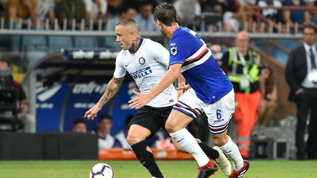 Hasil Liga Italia: Tiga Gol Dianulir, Inter Menang Dramatis Atas Sampdoria