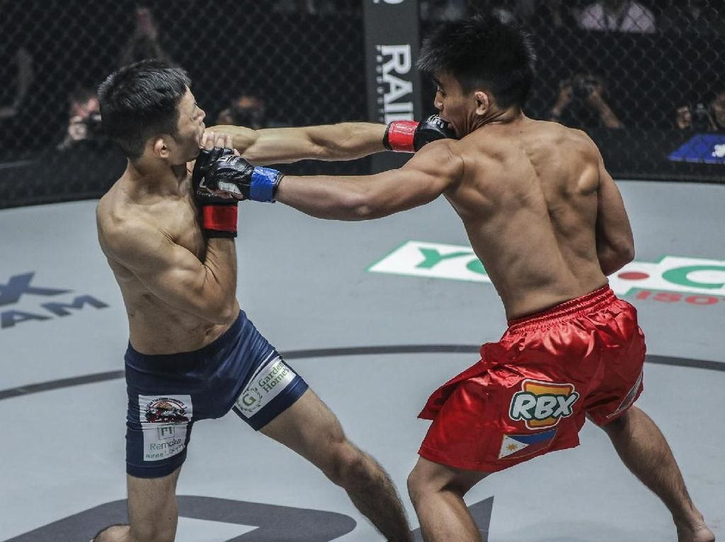 Nobita Kehilangan Gelar di ONE Championship Jakarta
