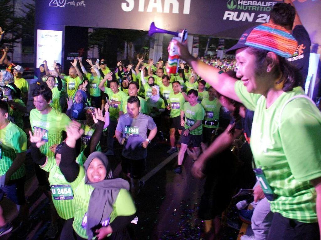 3000 Peserta Ikuti Herbalife Run 2018