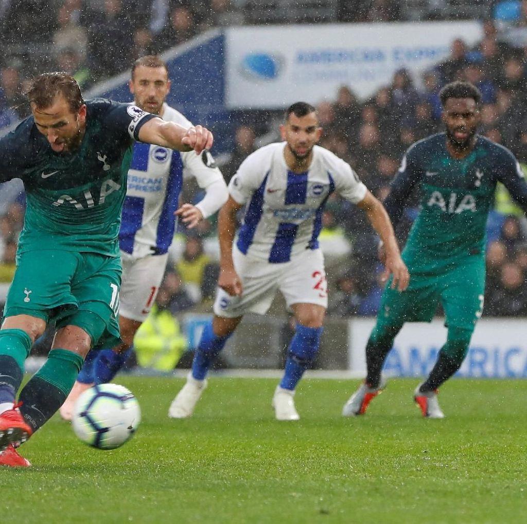 Hasil Liga Inggris: Kalahkan Brighton, Spurs Akhiri Laju Buruk