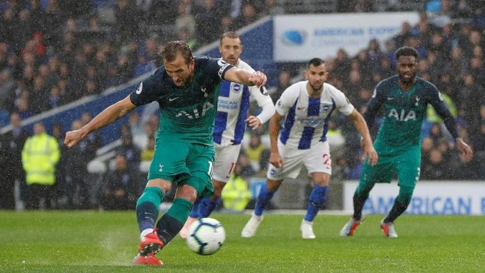 Tottenham Hotspur menang 2-1 atas Brighton (Paul Childs/Action Images via Reuters)