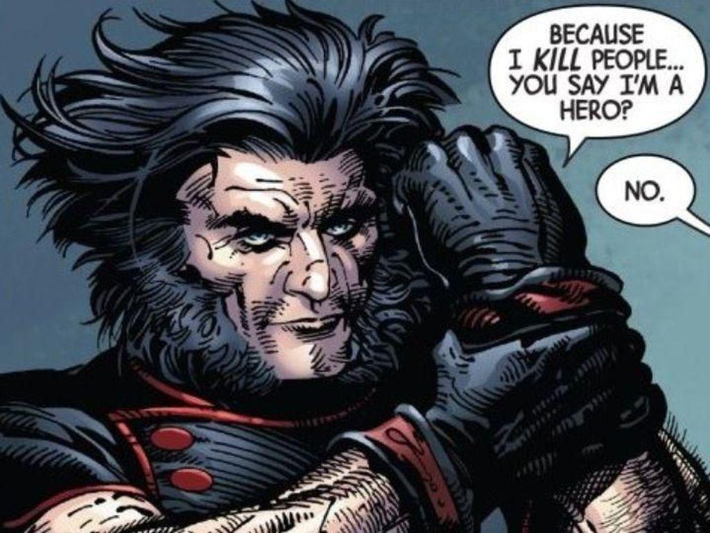 Wolverine dan Hulk Jahat Saling Membunuh di Komik Old Man Logan