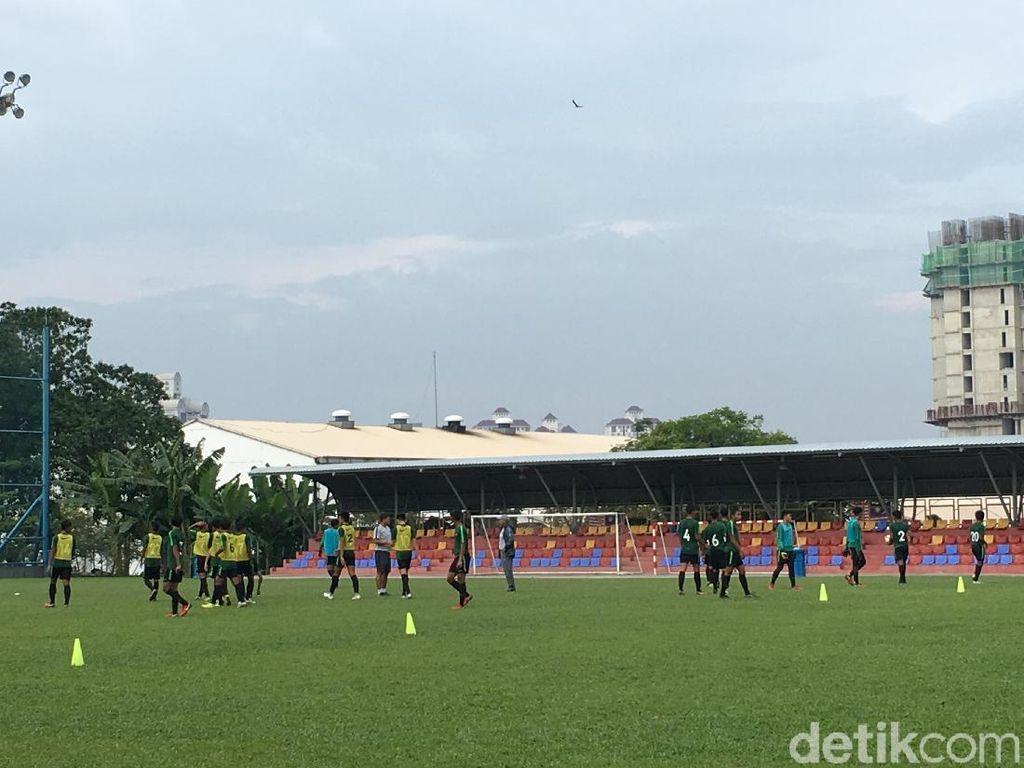 Timnas Indonesia U-16 Matangkan Taktik Jelang Lawan Vietnam