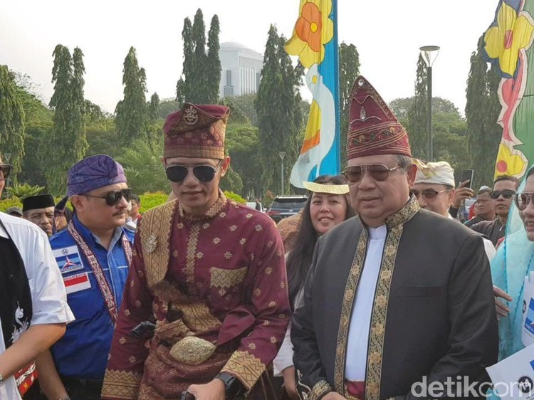 SBY WO saat Kampanye Damai, AHY Minta KPU Tegas