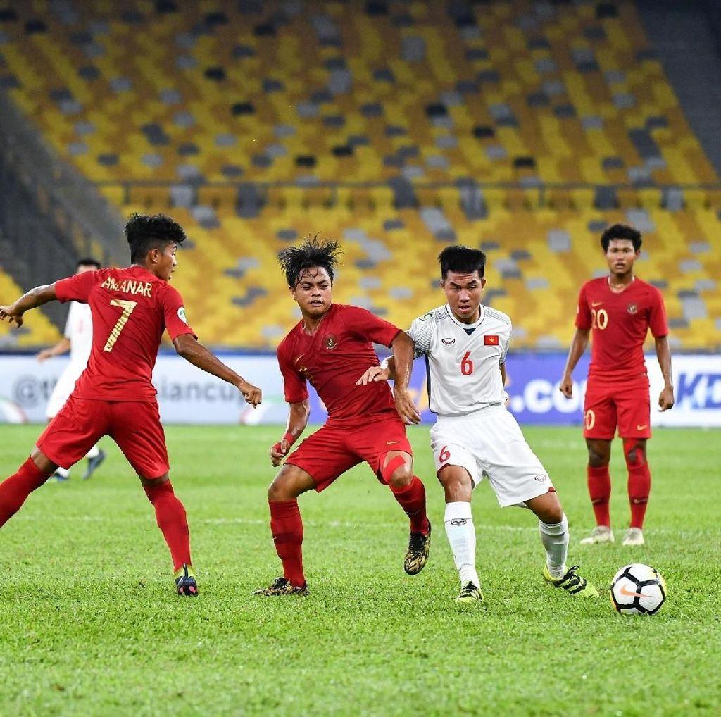 Hasil Piala Asia U-16: Indonesia vs Vietnam Berakhir Imbang 1-1