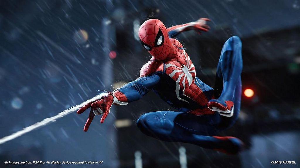 Momen Bukan Muhrim di Game Spider-man