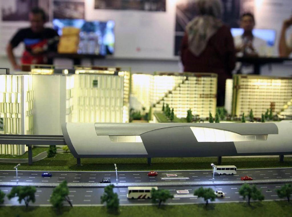 Hunian Dekat dengan MRT dan LRT Diminati Masyarakat