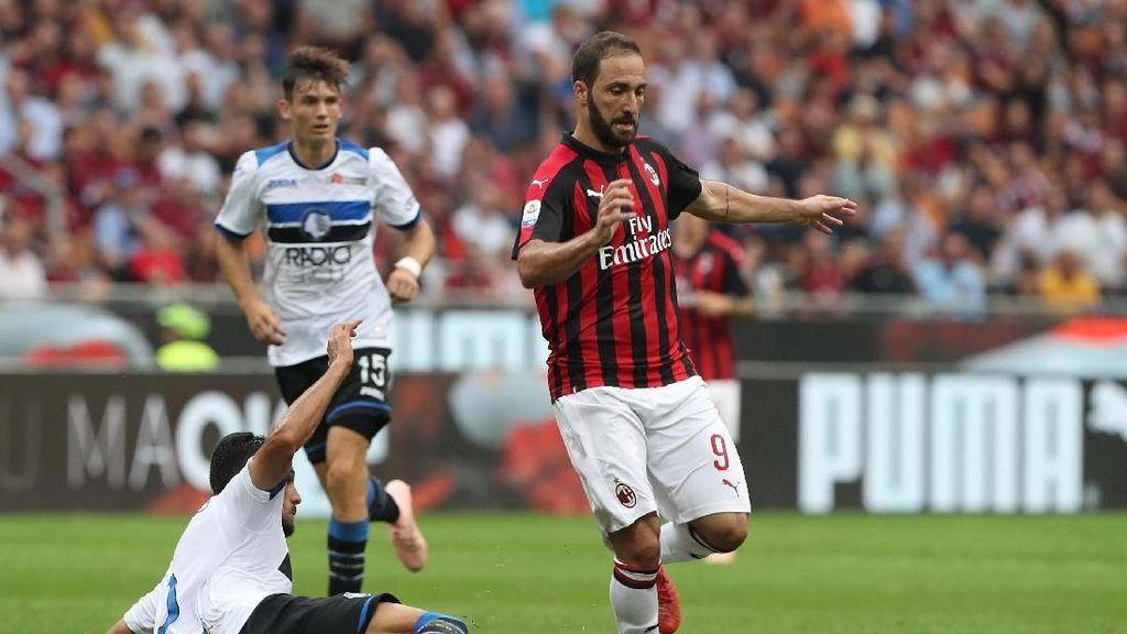 Hasil Liga Italia: Milan Diimbangi Atalanta di San Siro