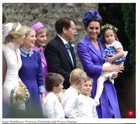 Yeay! Pangeran George dan Charlotte Jadi Pengiring Pengantin Lagi