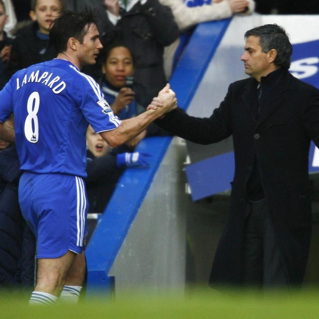 Antusiasnya Lampard Berhadapan dengan Sang Mentor, Mourinho