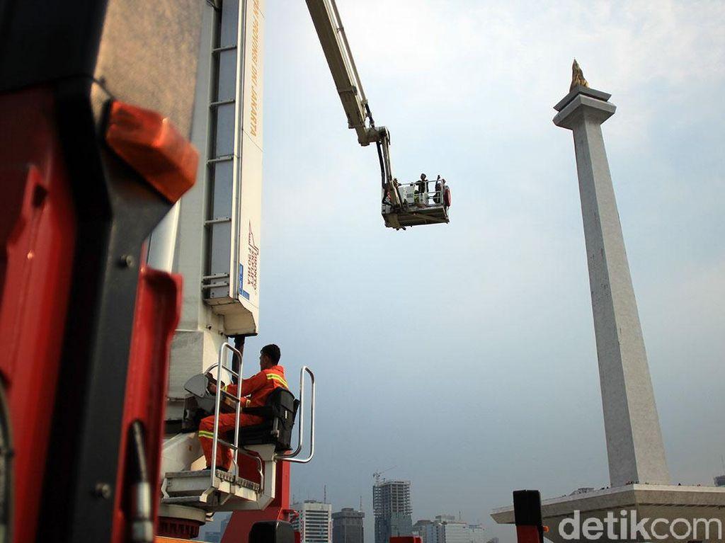 Bronto Skylift, Cara Baru Menikmati Monas dari Ketinggian