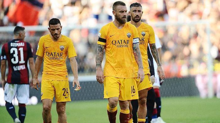 AS Roma kalah 0-2 dari Bologna. (Foto: Mario Carlini / Iguana Press/Getty Images)