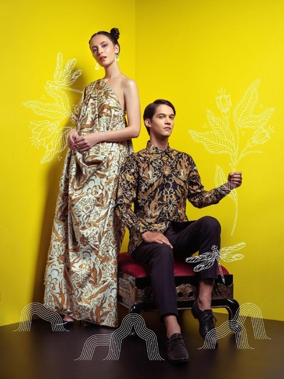 Koleksi Disney x Iwan Tirta Private Collection (Foto: Dok. Disney Indonesia)