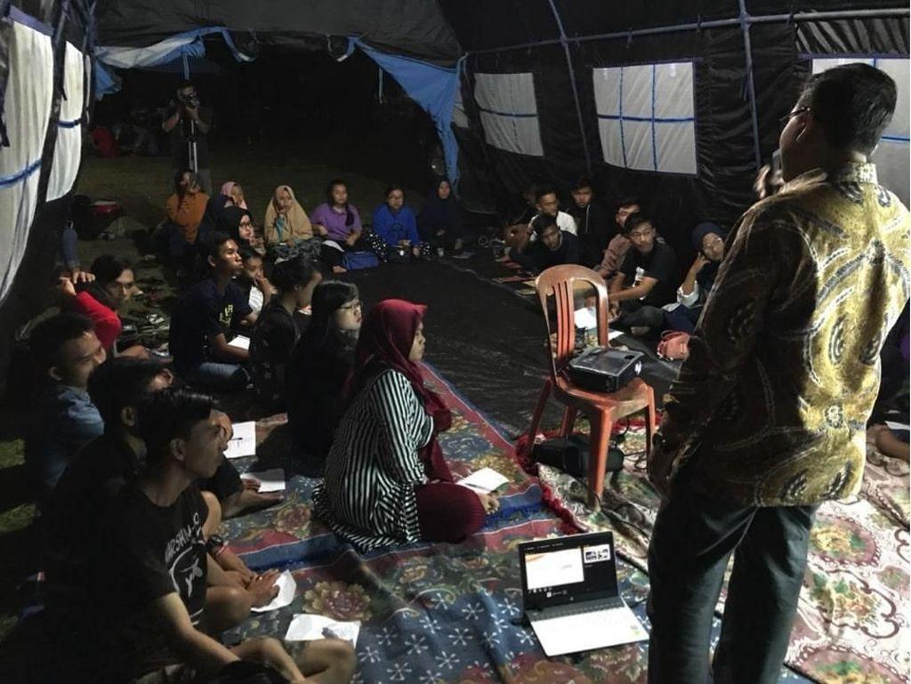 Pemuda Lintas Iman Poso Ikut Kegiatan Kemah Kampung Damai