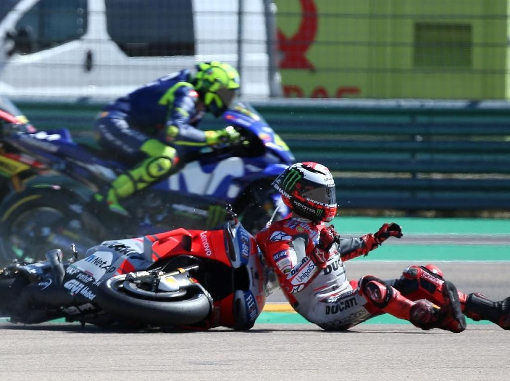 MotoGP Ubah Kebijakan untuk Rider yang Finis Sambil Terjatuh