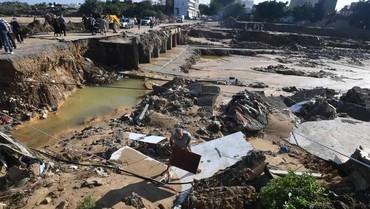 Banjir Bandang di Tunisia Tewaskan 5 Orang