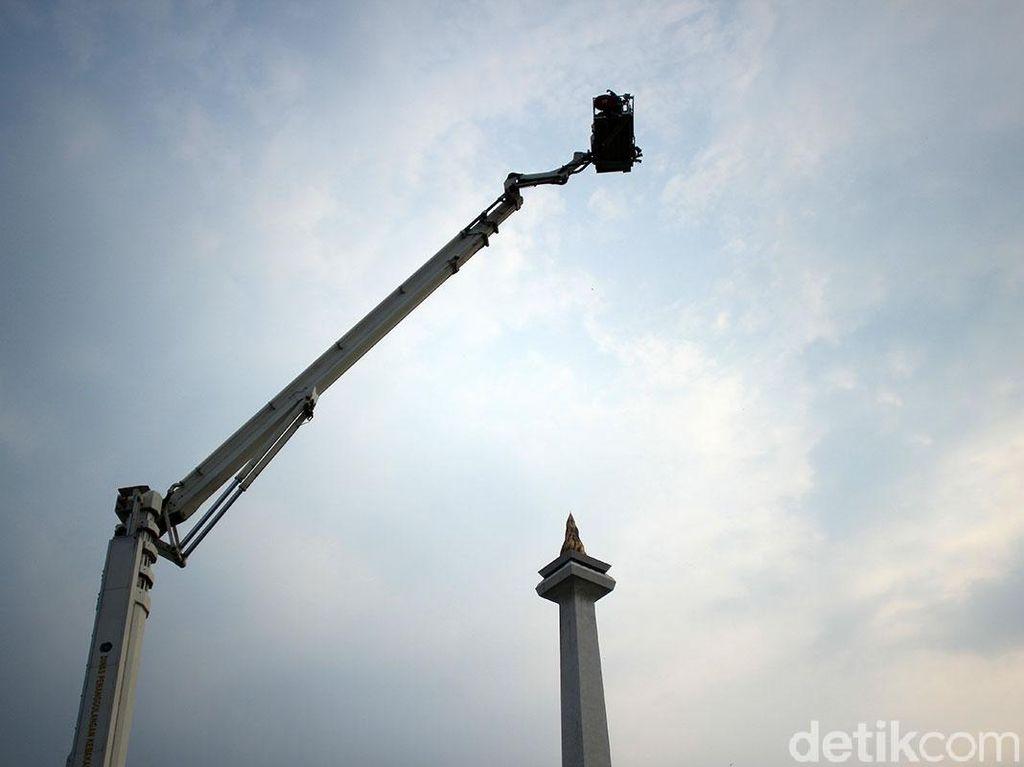 Foto: Cara Baru Melihat Monas dari Ketinggian 84 Meter