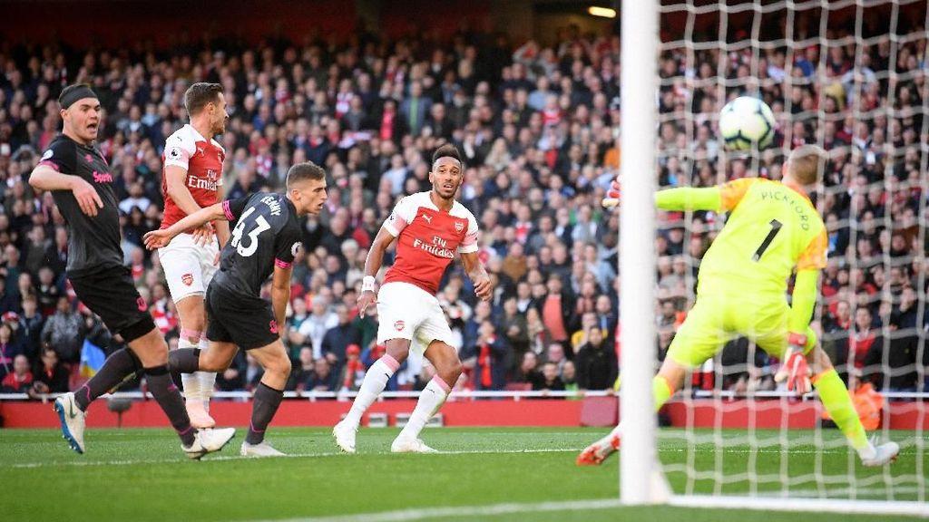 Hasil Liga Inggris: Arsenal Taklukkan Everton