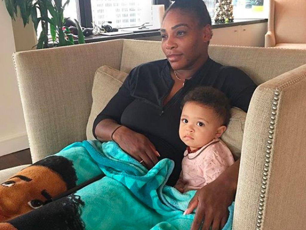 Cerita Anak Serena Williams Tenangkan Sang Bunda Setelah US Open