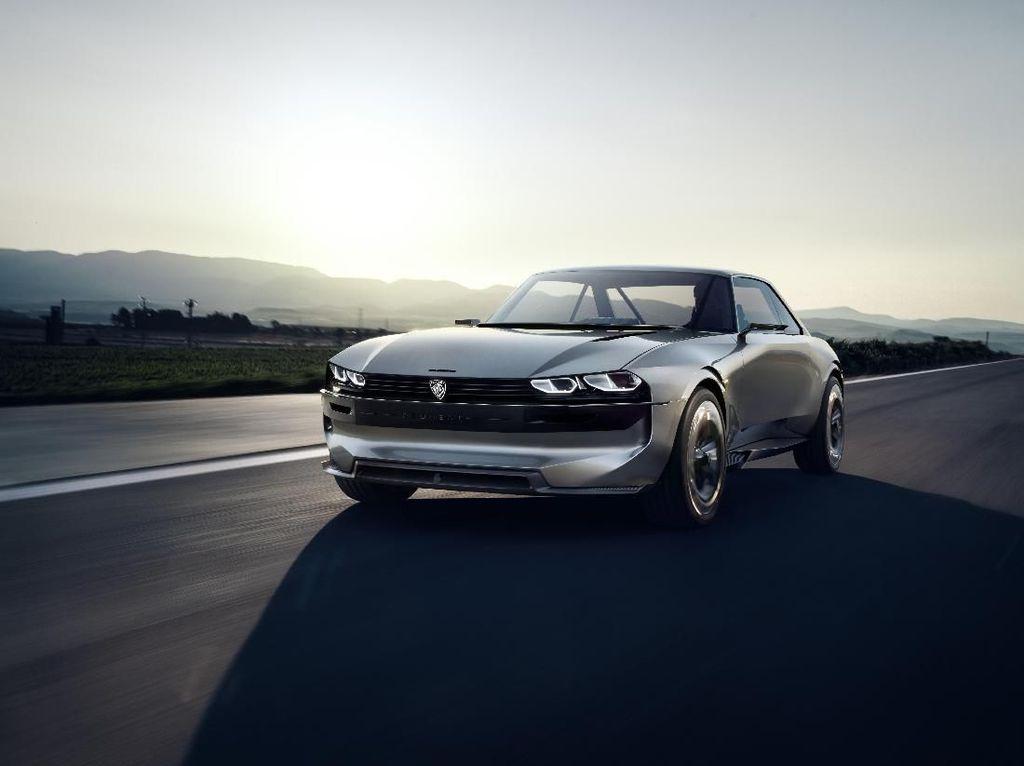Ini Dia Mobil Listrik Bergaya Klasik Keluaran Peugeot