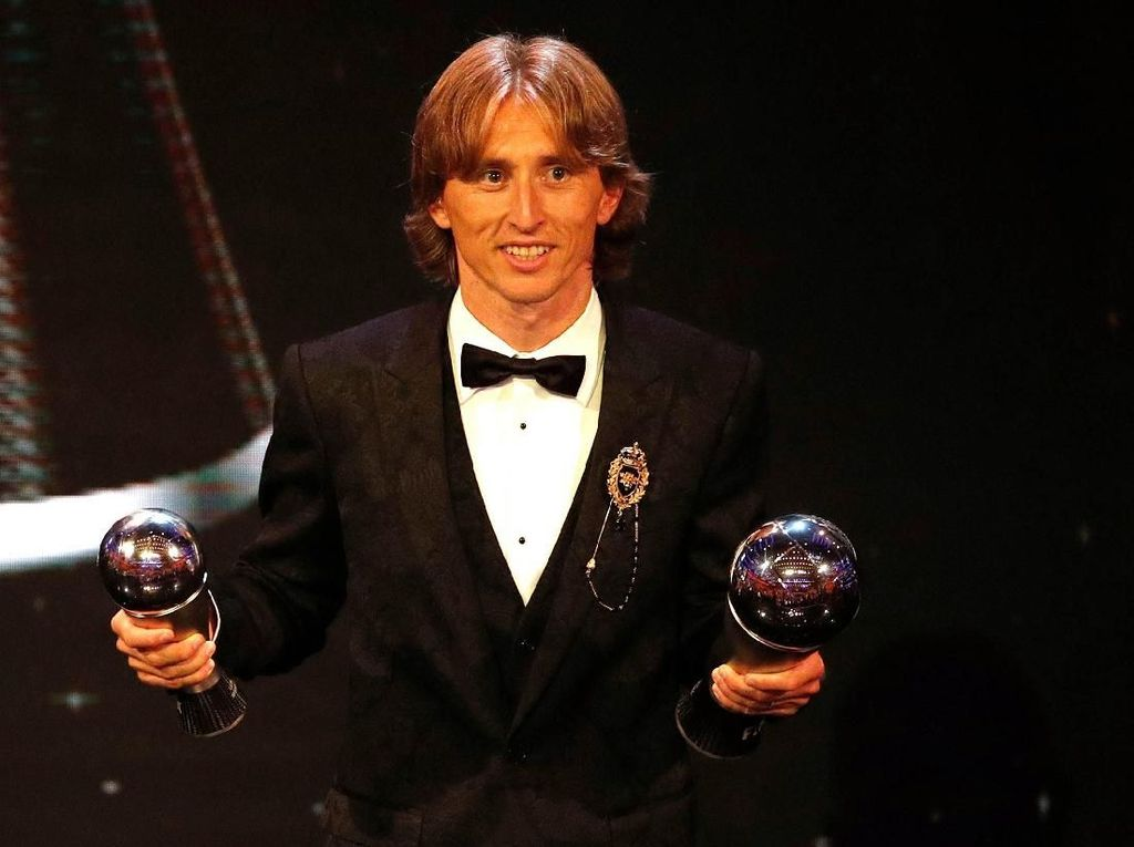 Museum Ronaldo Sindir Gelar Pemain Terbaik Modric